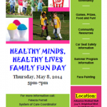 Healthy Minds, Healthy Lives Family Fun Day @ Johnston Medical Mall | Smithfield | North Carolina | United States