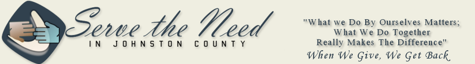 Serve The Need In Johnston County